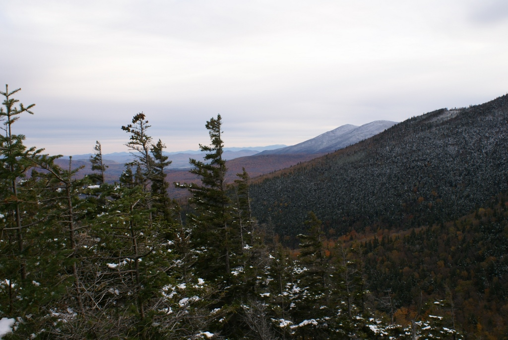 Moosilauke Ascent - View Towards Kinsmans