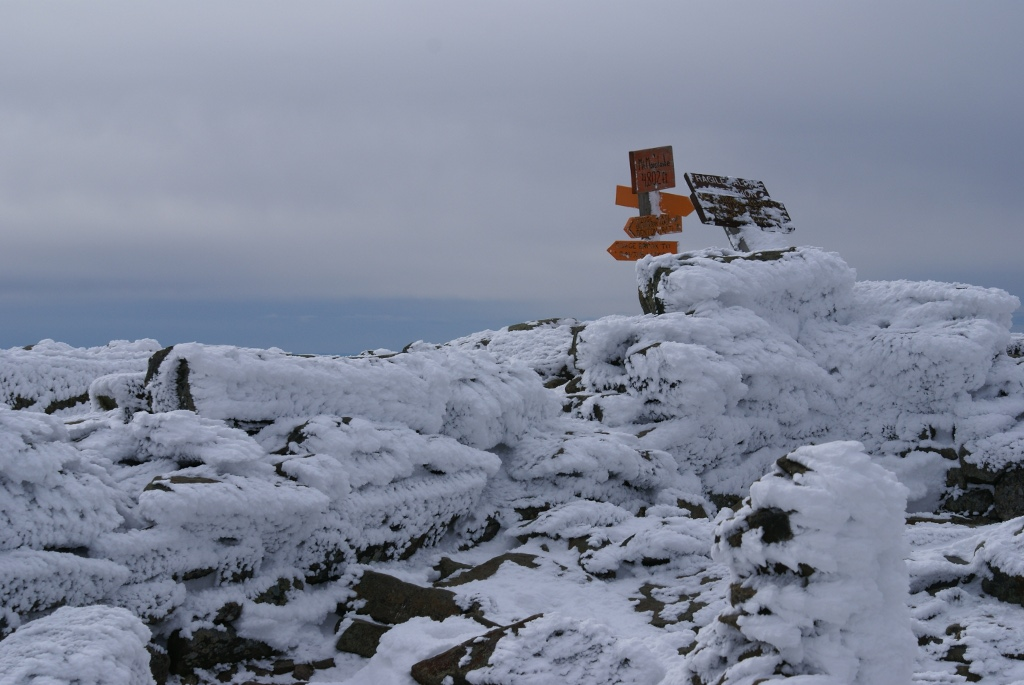 Moosilauke Summit - Snow 1