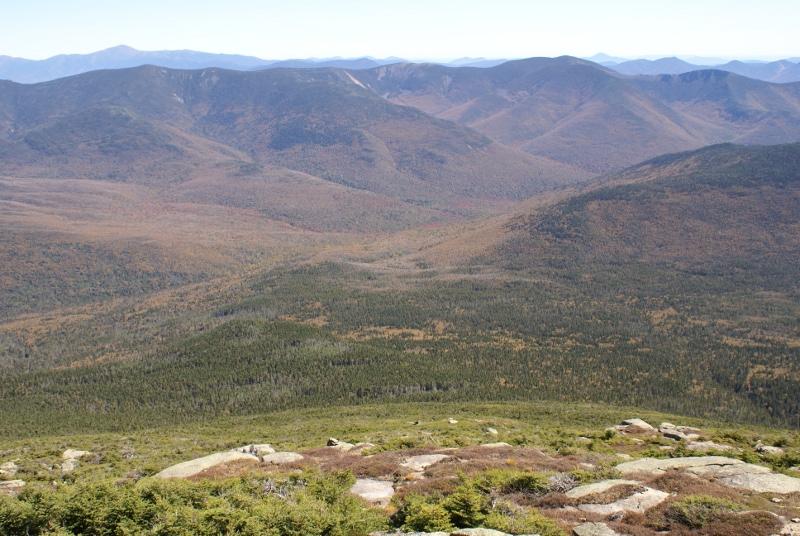 Pemi Wilderness from Lafayette Summit