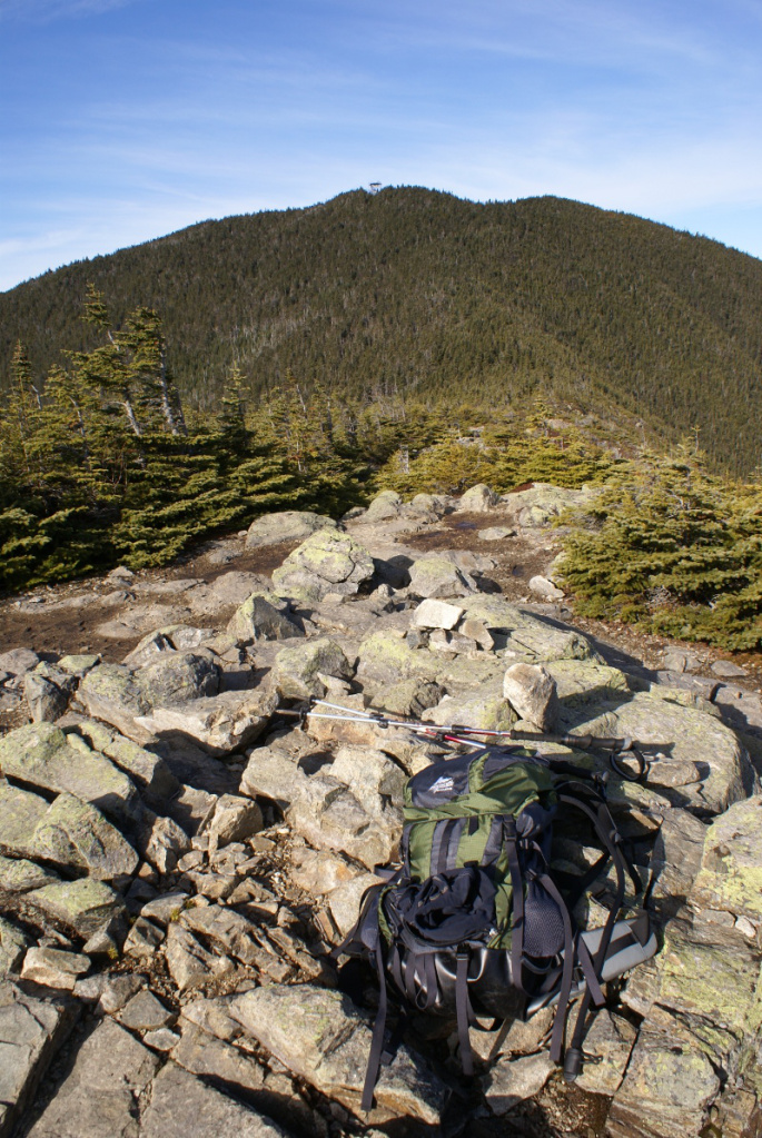 Carrigain Observation Tower from Signal Ridge