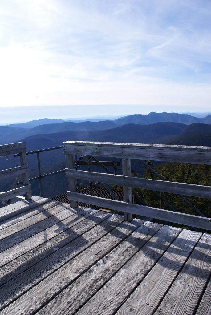 Carrigain Observation Tower - Platform