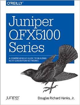 Juniper QFX5100 book cover